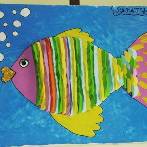 fish craft idea for kids