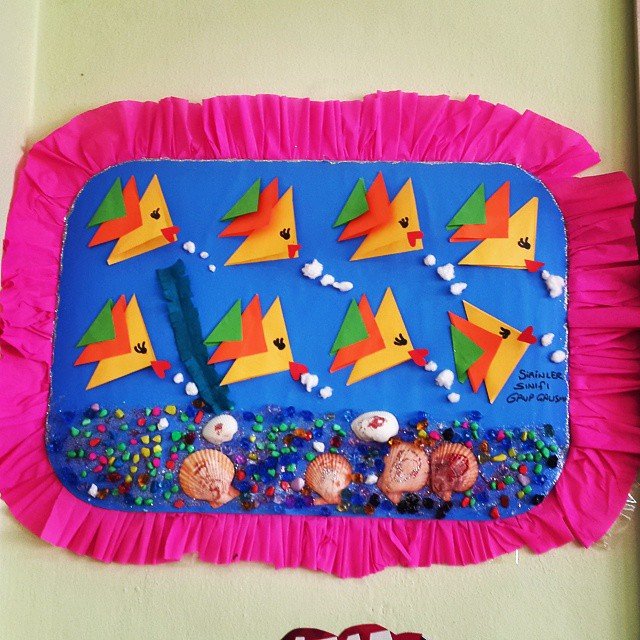 fish craft idea for kids (4)