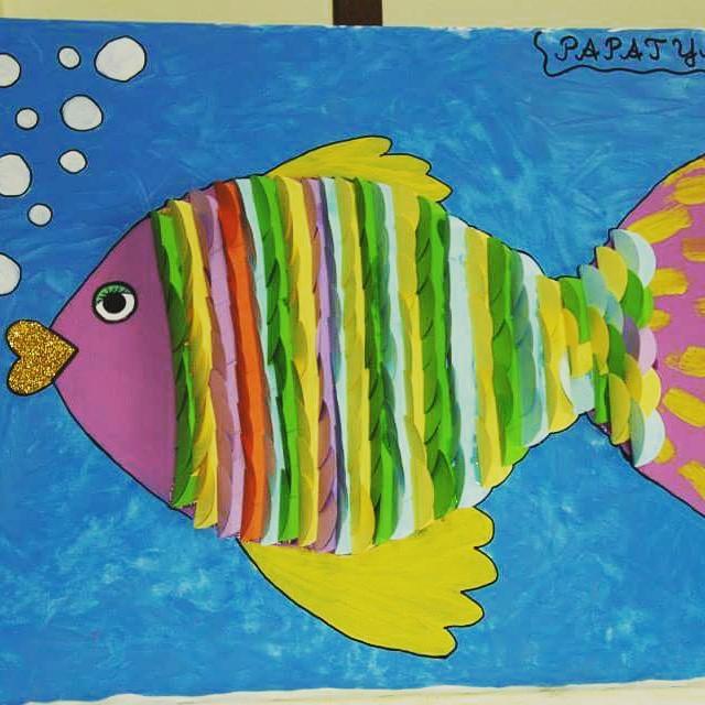 fish craft idea for kids