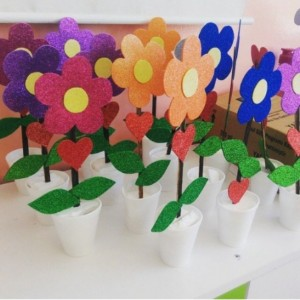 flower craft idea for kids (2)