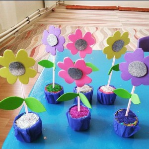 flower craft idea for kids (4)
