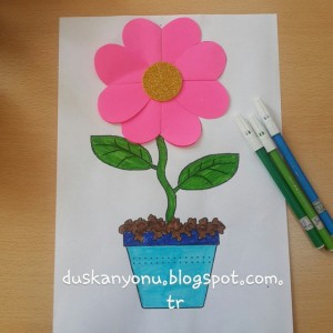 flower craft idea for kids (6)
