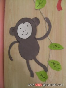 free monkey craft idea for kids (7)