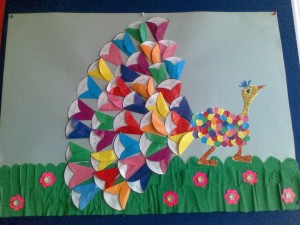 free peacock craft idea for kids (11)