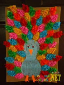 free peacock craft idea for kids (5)