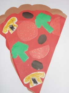 free pizza craft