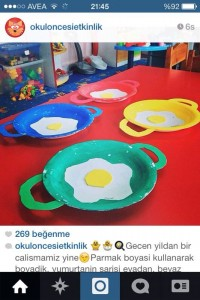 fried egg craft idea (1)