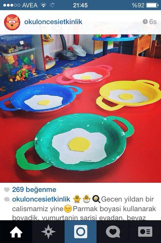 fried egg craft idea (1)