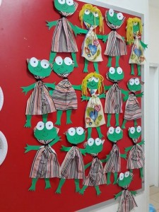 frog craft idea for kids (2)