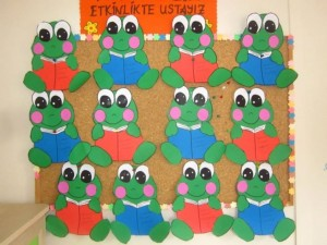 frog craft idea for kids (7)