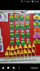frog craft idea for kids (8)