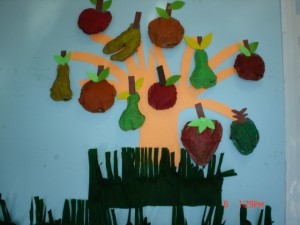 fruit tree craft