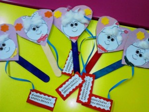grandparent's day puppet craft