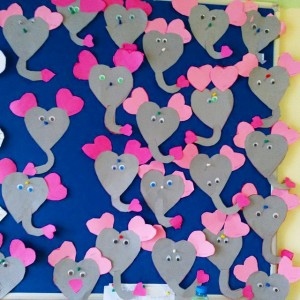 heart elephat craft