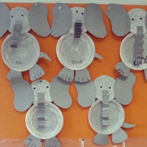 paper plate elephant craft & Paper plate animals craft | Crafts and Worksheets for Preschool ...