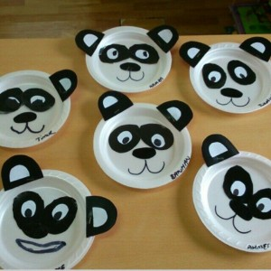 paper-plate-panda-craft & Paper plate animal craft idea for kids | Crafts and Worksheets for ...
