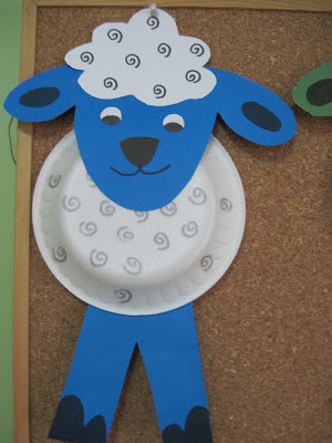 paper plate sheep craft | Crafts and Worksheets for