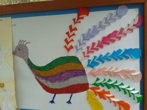 peacock craft idea_800x600