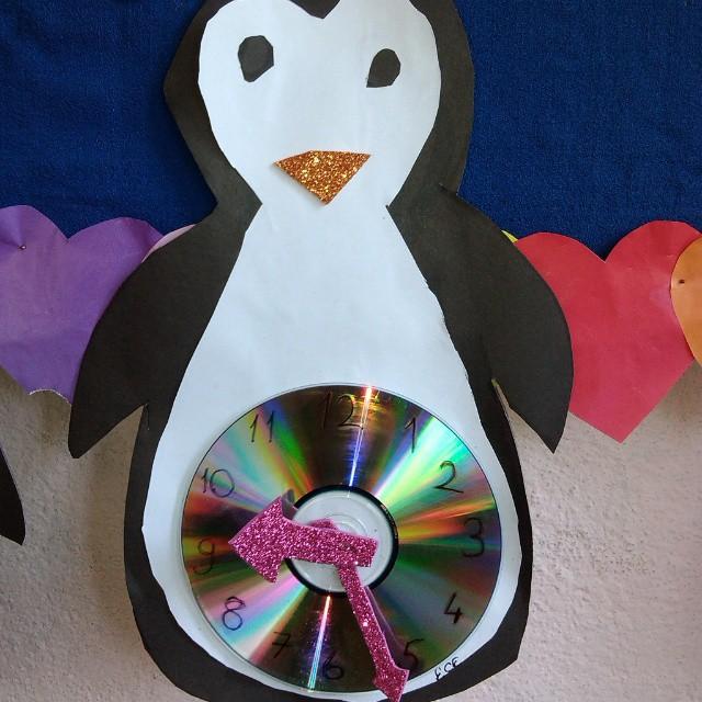penguin clock craft