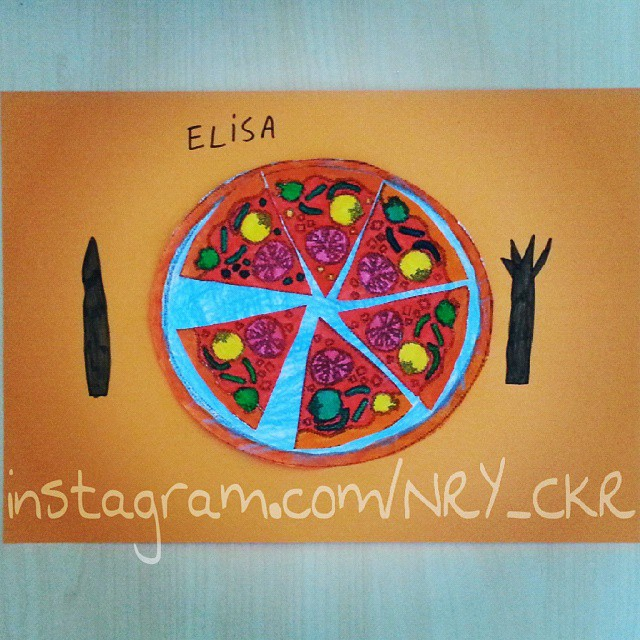 pizza craft idea for kids (1)