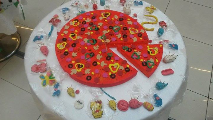 pizza craft idea