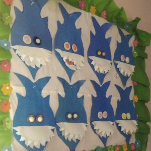 shark craft idea for kids