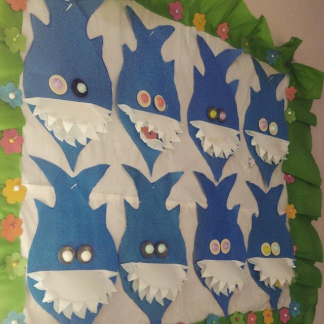 shark craft idea for kids