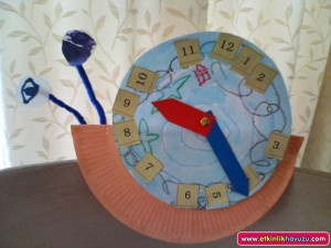 snail clock craft