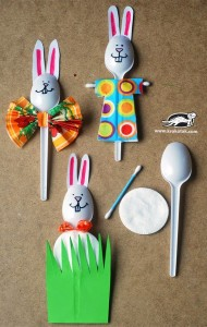 spoon bunny craft
