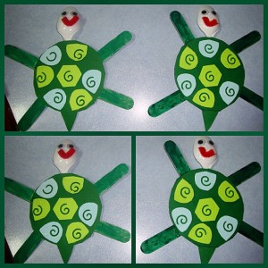 spoon turtle craft