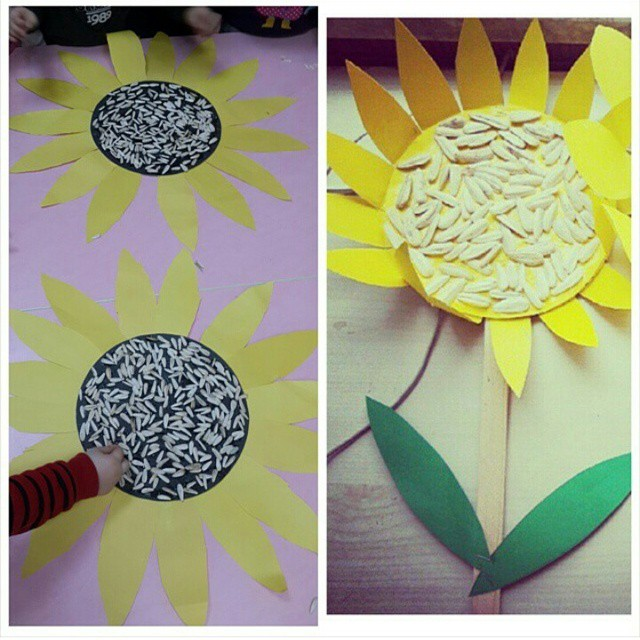 sun flower craft (2)