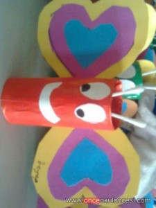 toilet paper roll butterfly craft idea