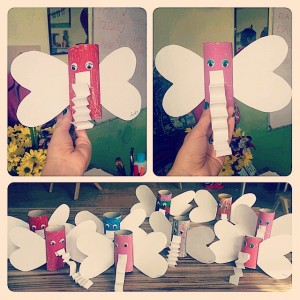 toilet paper roll elephant craft