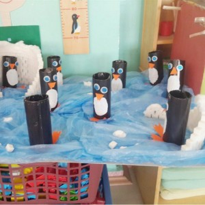 toilet paper roll penguin craft 1