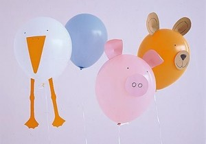 zoo animal balloon craft