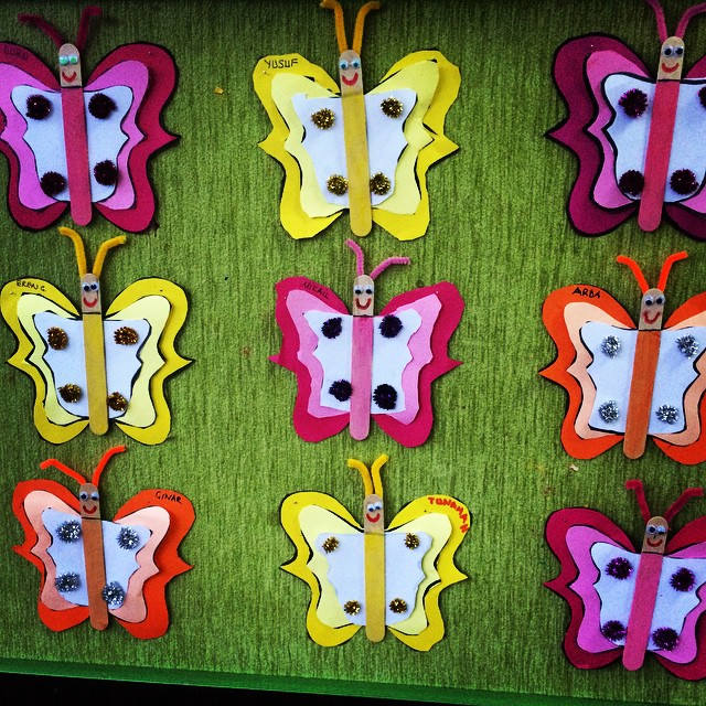 butterfly craft idea for kids (1)