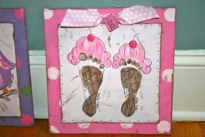 footprint ice cream craft