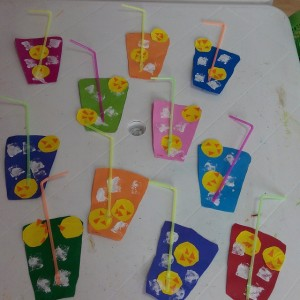 lemon juice craft idea