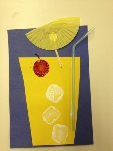 lemonade summer craft