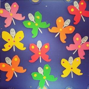 plastic spoon butterfly (1)
