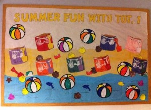 preschool summer bulletin board ideas