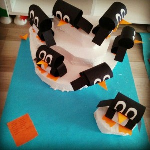 roll penguin craft