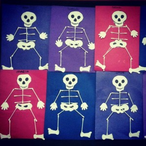 skeleton craft idea for kids (2)