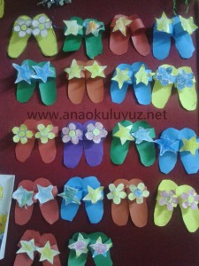 slippers craft idea for kids (7)