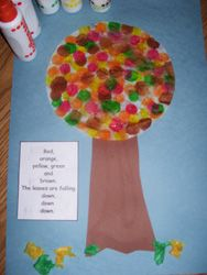 Fall Coffee Filter Tree