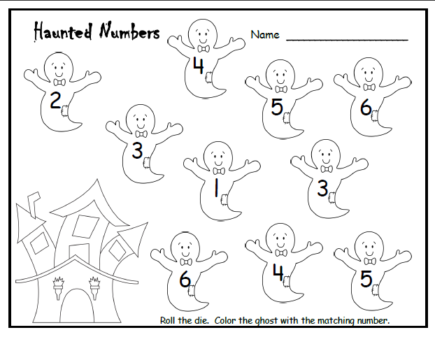 Free Printable Halloween Math Worksheet For Kids Crafts And