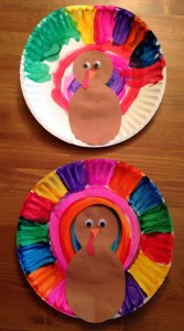 Paper Plate Turkey Craft idea for kids