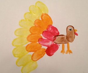 Thumbprint Turkey Craft