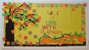 autumn bulletin board idea (3)