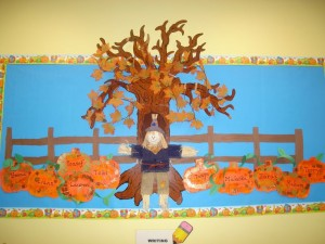 autumn bulletin board idea (5)